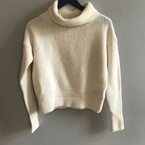 Banana Republic chunky Turtleneck merino wool